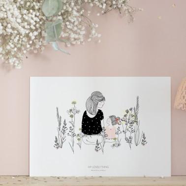 Print Vegetal Break Girl