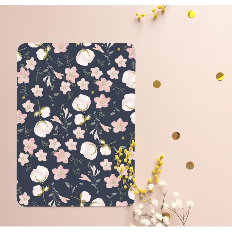 Navy Floral Pattern
