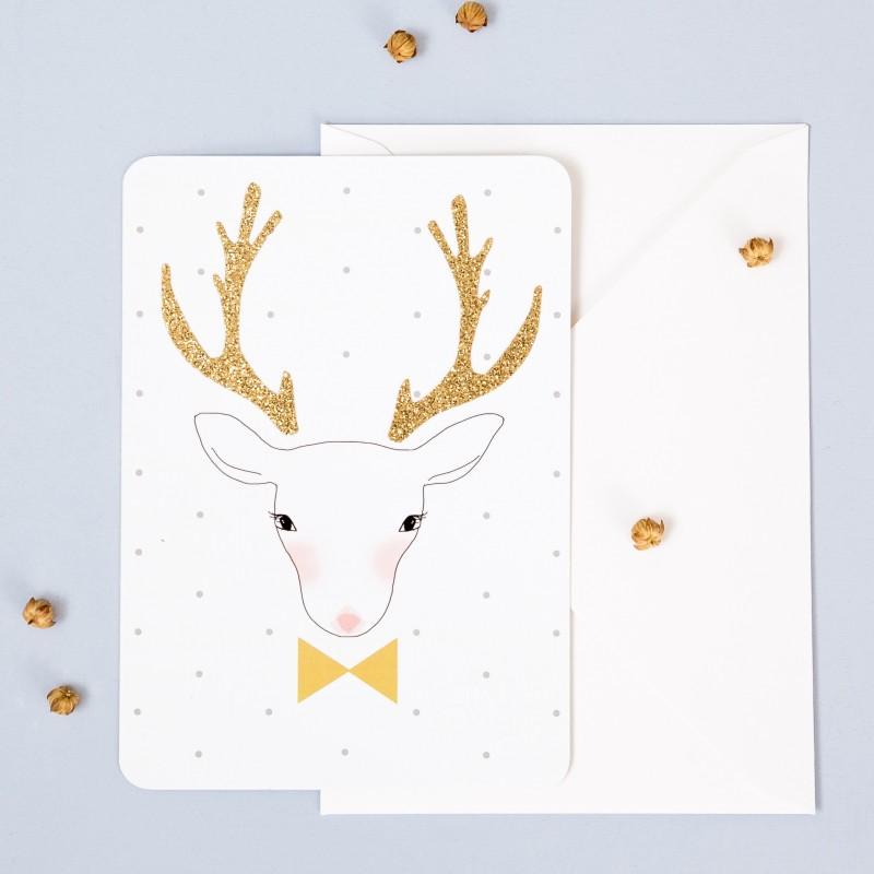 Card Deer