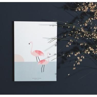 Couple of flamingo