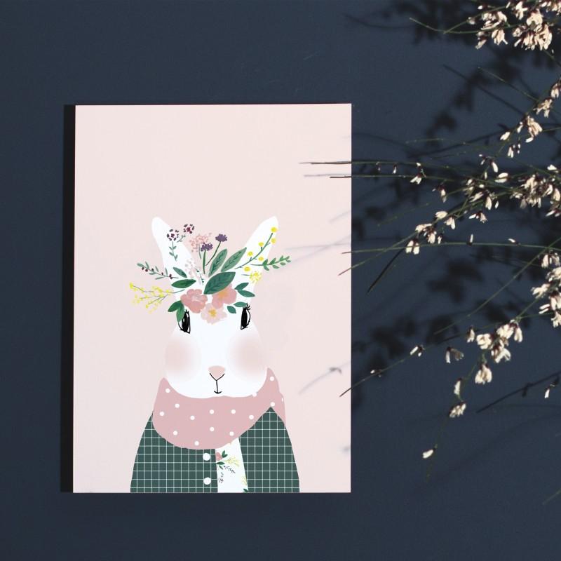Affiche Josephine aux Fleurs